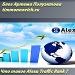 Что такое Alexa Traffic Rank