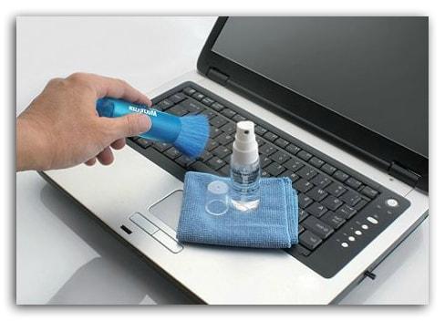 чистка ноутбука для ускорения работы